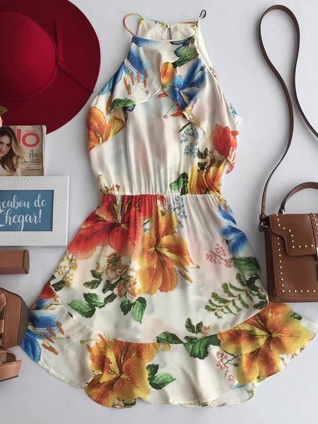 673c52216efa Vestidos lindos e confortáveis | Projetos para experimentar em 2019 ...