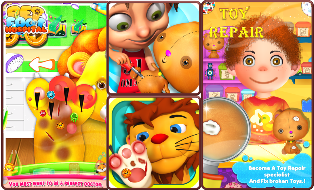 Download Android Kids Games for FREE from Play Store