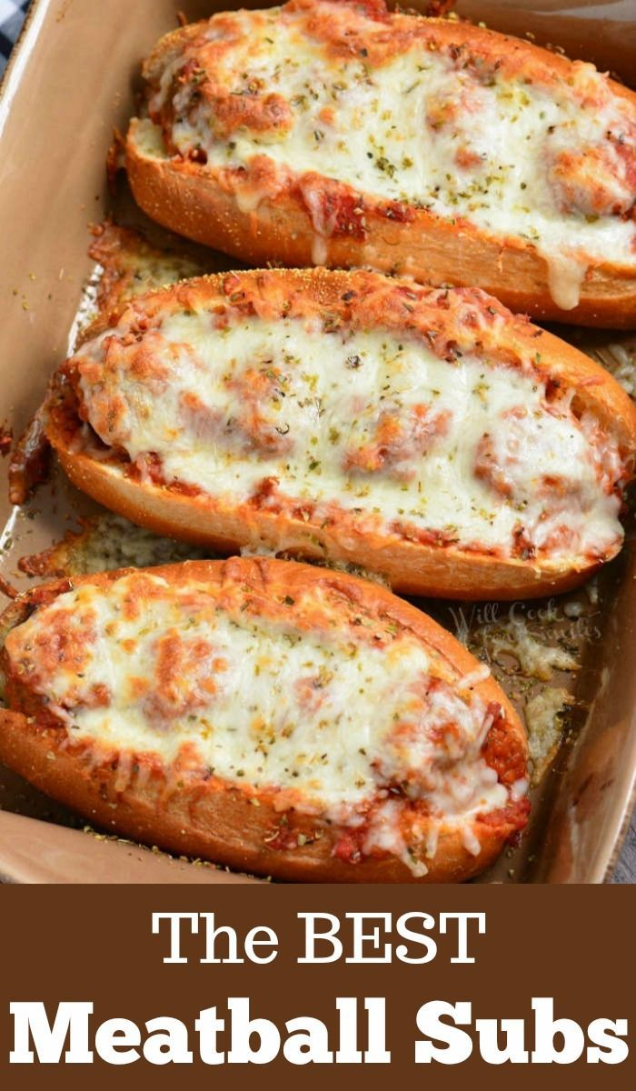Photo of Meatball Sub is a hot delicious sandwich with tender Italian meatball …
