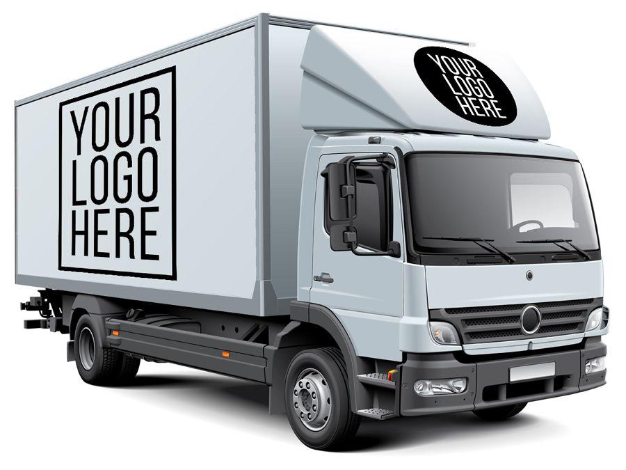 Download White Box Truck Free Mockup | Truck design, Mockup ...