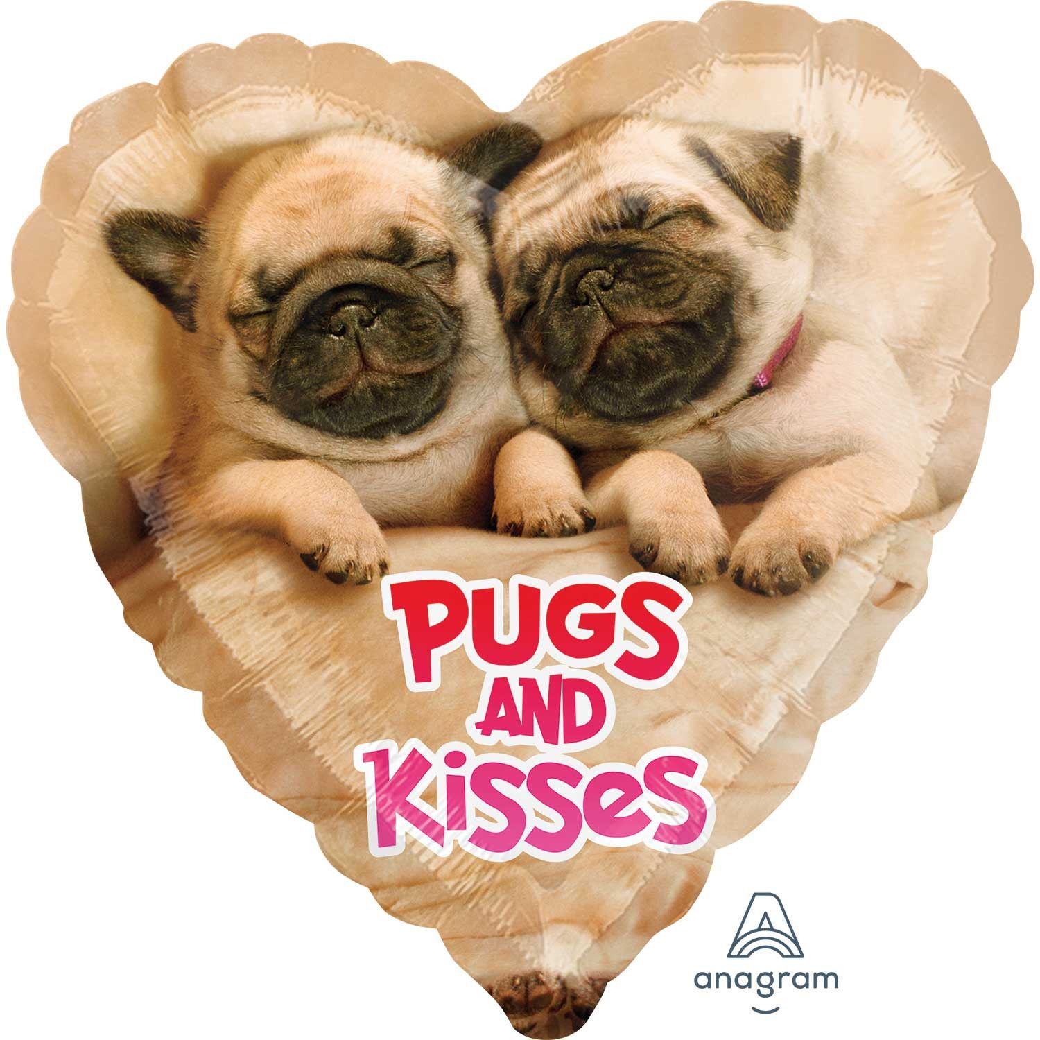 Pugs Kisses Balloon Available At Www