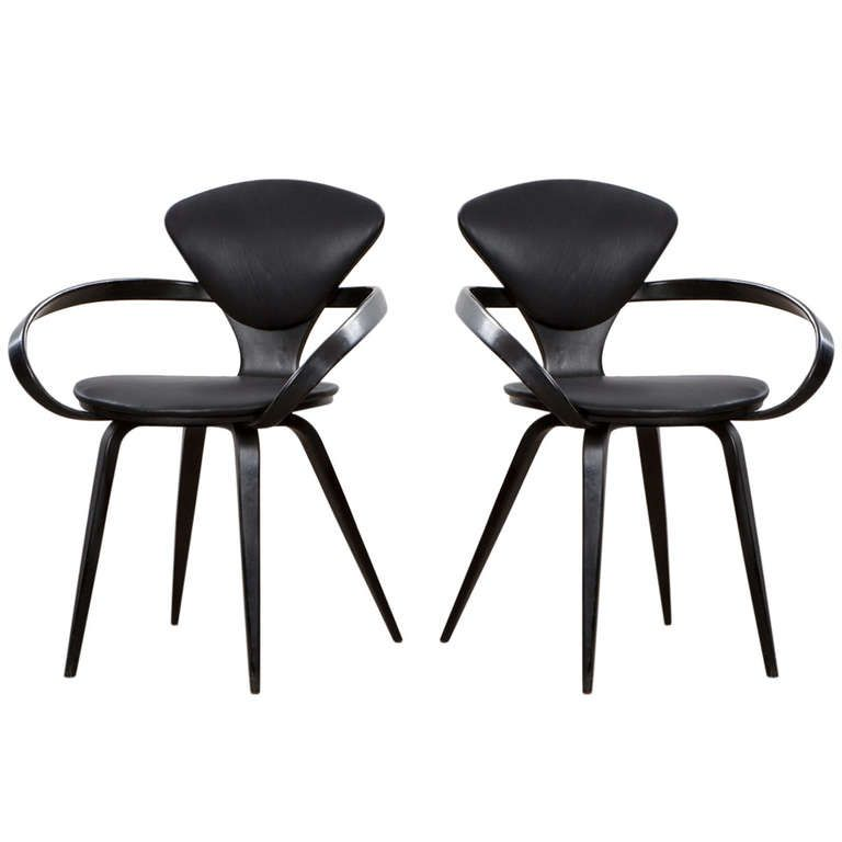 norman cherner armchair from a unique collection of antique and modern armchairs at http