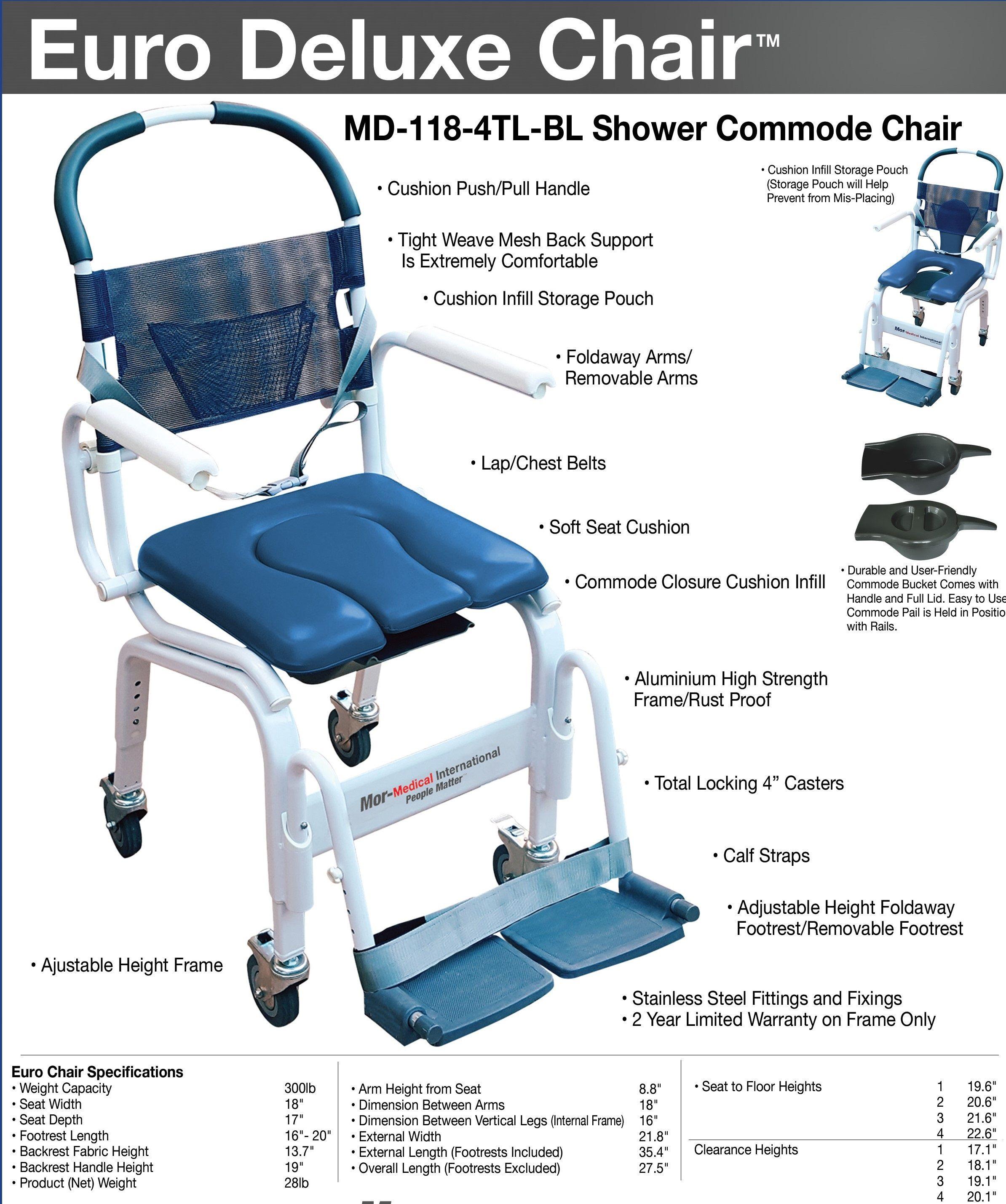 Euro Shower Commode Chair Shower Commode Chair Commode Chair Shower Chair