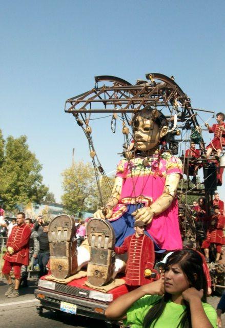 La pequeña gigante guadalajara, jalisco, Mexico 2010 #Royaldeluxe