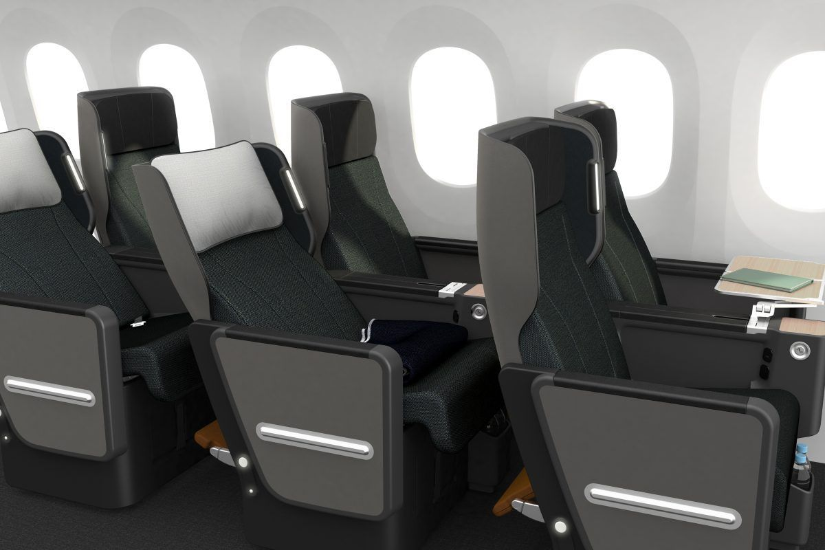 Qantas New Premium Economy Travelupdate Airplane Interior Economy Seats Aircraft Interiors