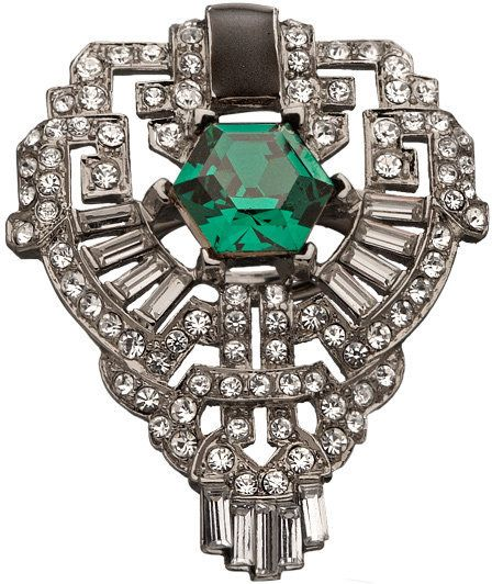 The Great Gatsby's Daisy Buchanan-inspired chic art deco ring!