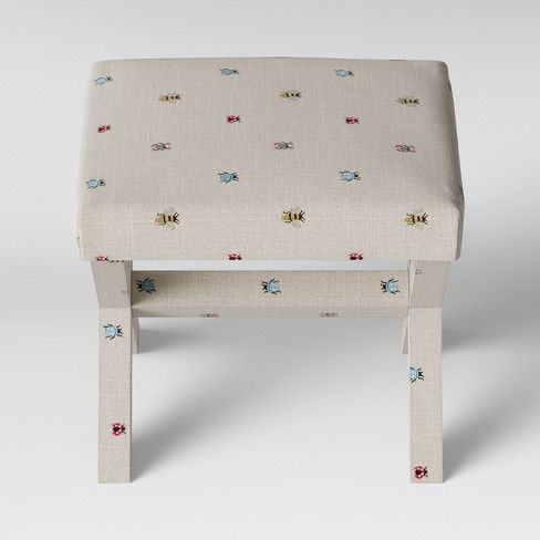 Cool Bug Print X Base Ottoman Light Gray Threshold In 2019 Creativecarmelina Interior Chair Design Creativecarmelinacom