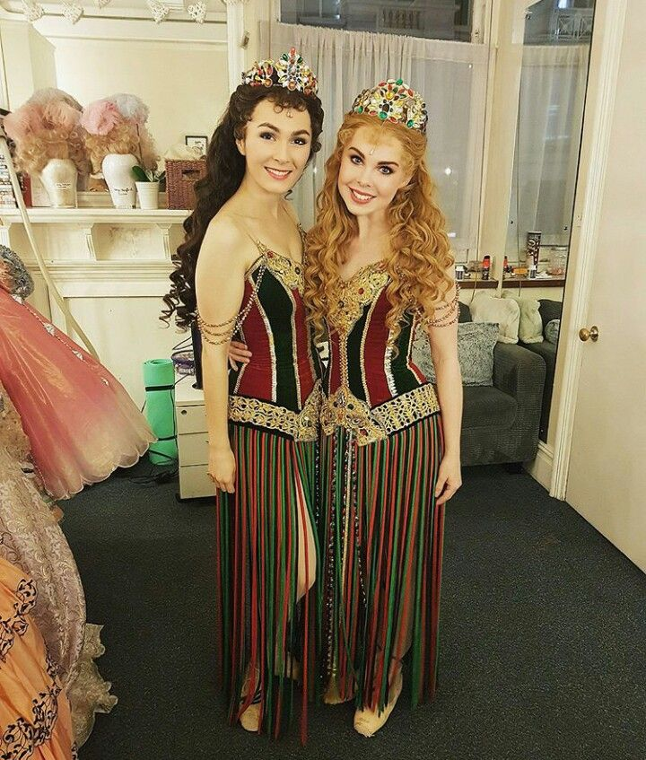 Kelly Mathieson And Grace Horne Christine Daae And Meg Giry