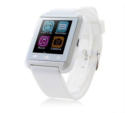 Amazon.com: LEMFO Bluetooth Smart Watch WristWatch U8 UWatch Fit for Smartphones IOS Apple iphone 4/4S/5/5C/5S Android Samsung S2/S3/S4/Note 2/Note 3 HTC Sony Blackberry (White): Cell Phones & Accessories