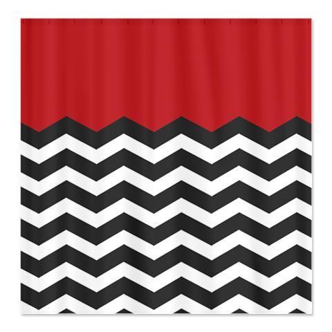 CafePress Twin Peaks Shower Curtain
