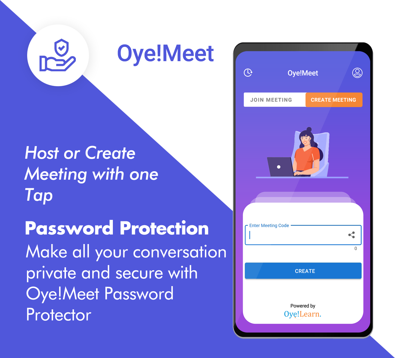 Oye Meet Ios Android Web A Complete Video Conference App By Ashokdash208 Ad Ios Affiliate Android Oye Mee In 2020 Android Web Application Android App