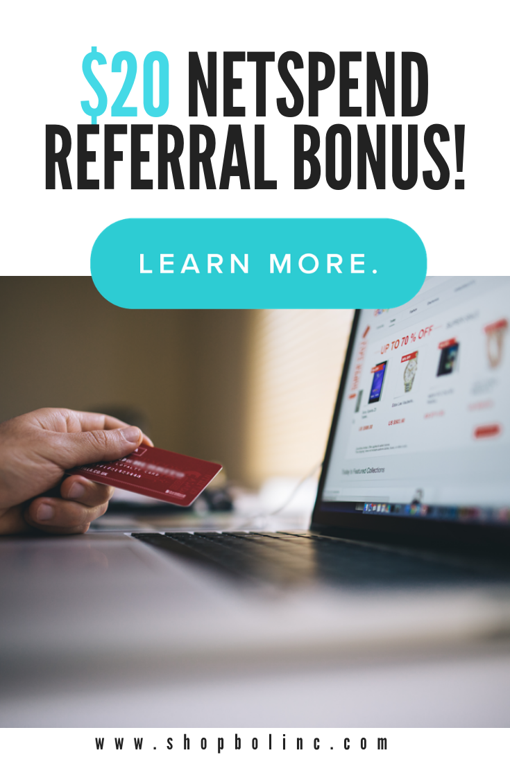 Earn 20 Netspend Referral Bonus Life on a budget, Make