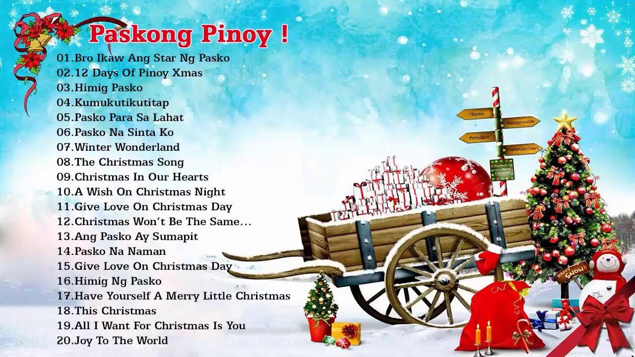 noel nonstop 2018 Paskong Pinoy: Top 100 Christmas Nonstop Songs 2018   Christmas  noel nonstop 2018