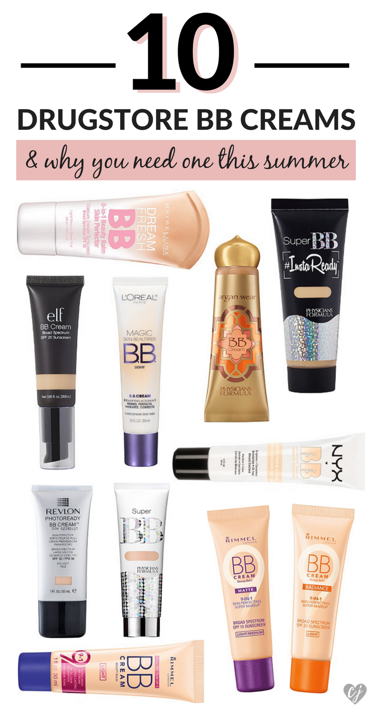 The Best Drugstore BB Creams For Summer