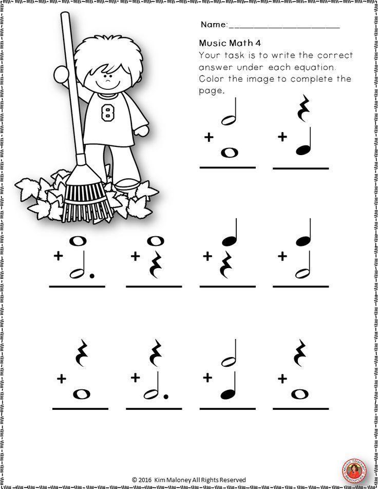 Resultado de imagen de music worksheets kids | Educacion ...