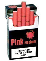 Pink Elephant cigarettes