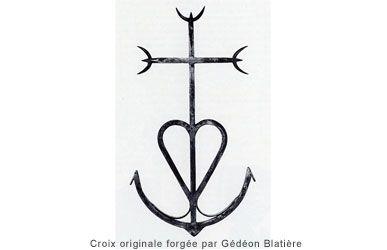 croix de camargue croix camarguaise croix de camargue signification trident camarguais croix. Black Bedroom Furniture Sets. Home Design Ideas