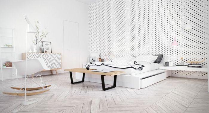▷ 1001 + Ideen für Skandinavische Schlafzimmer - Einrichtung und - schlafzimmer ideen weis modern