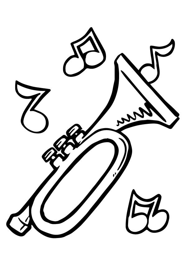 10 Interesting Music Notes Coloring Pages For Your Music Lover