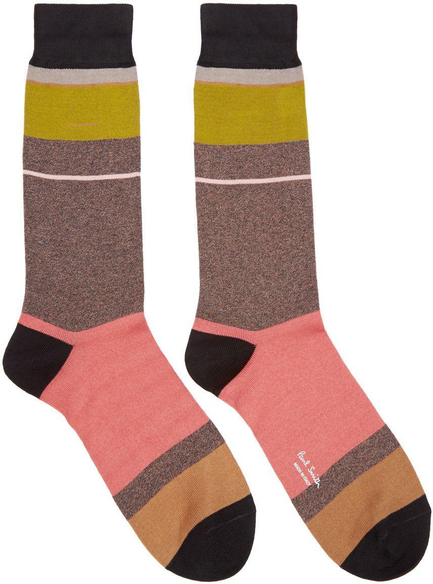 Paul Smith Multicolor Stripe Socks