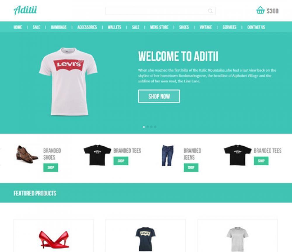 Template Bootstrap Untuk Penjualan Pakaian Dan Accesories Download Gratis Website Pakaian