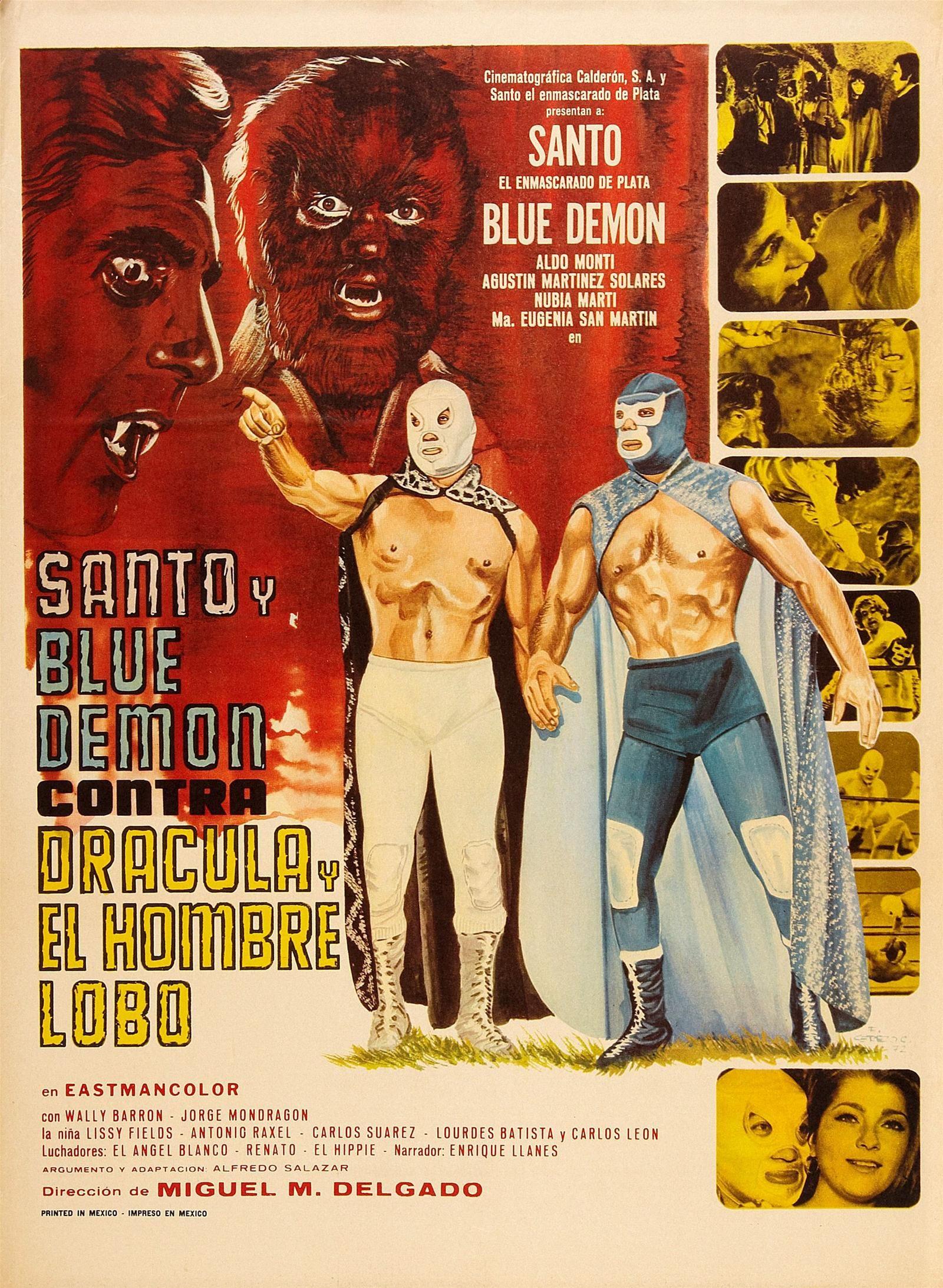 News santo blue demon vs dracula and wolfman