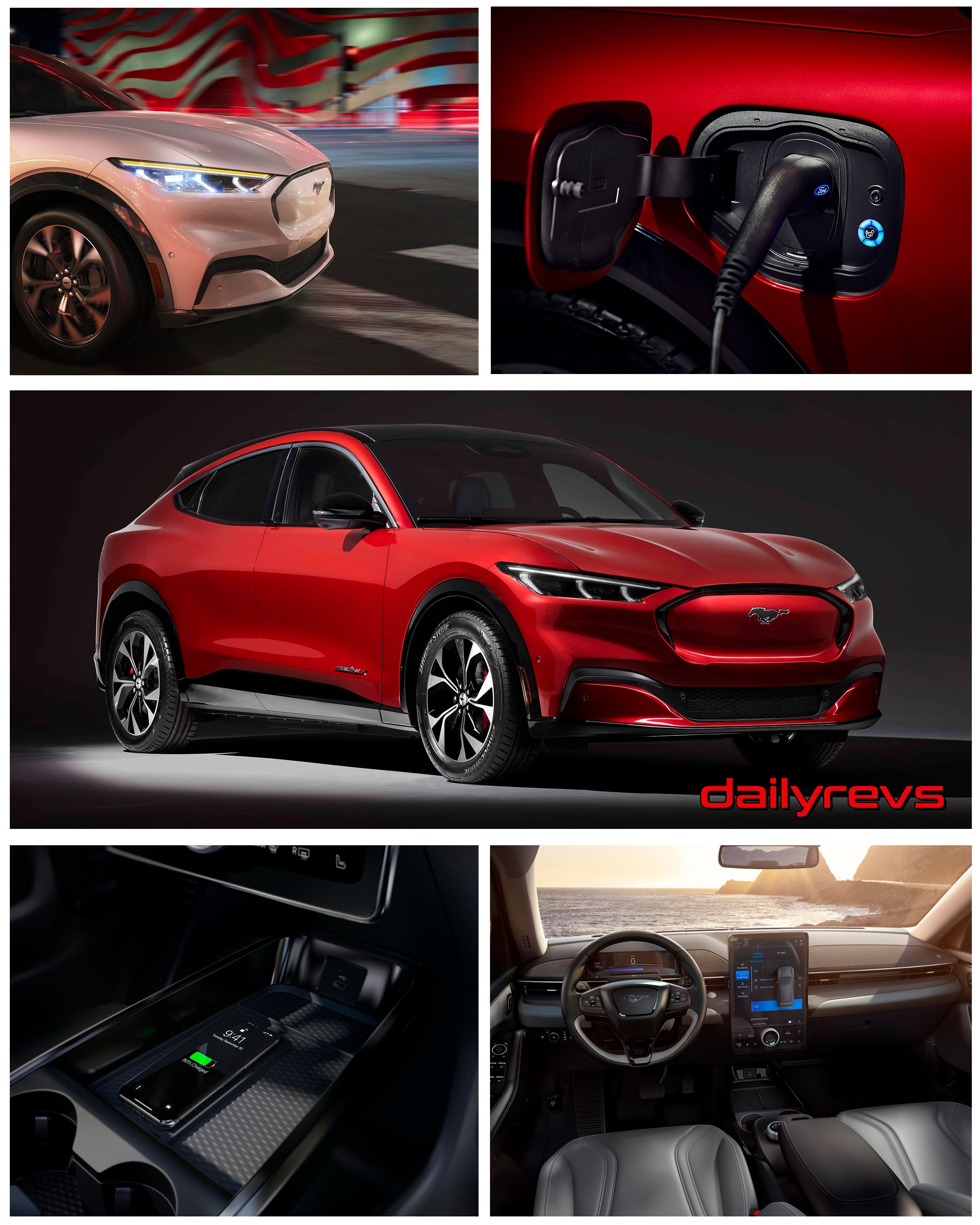 2021 Ford Mustang Mach E Hd Pictures Videos Specs Information With Images Ford Mustang Ford Motor Company Ford Motor