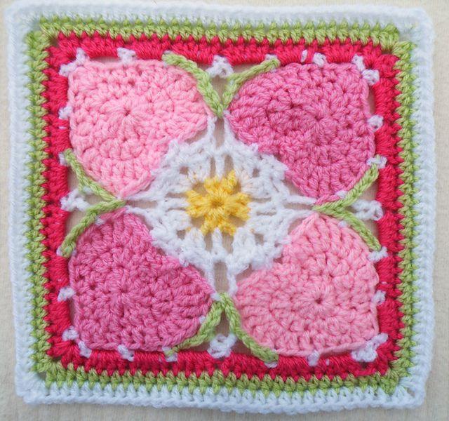 Ravelry: Maryfairys Happy Hearts for Crochet Sampler Favorites CAL ...