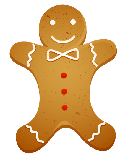 Transparent Christmas Gingerbread Cookie PNG Clipart