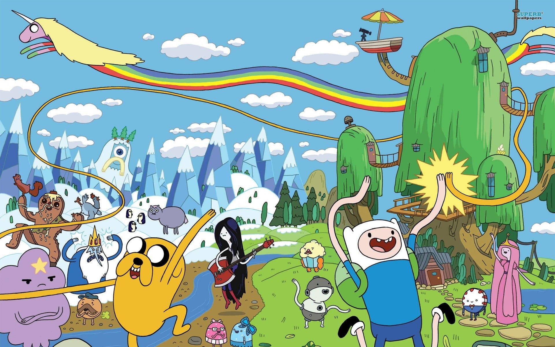 Elegant Adventure Time Jake Wallpaper Hd Wallpaper Hd