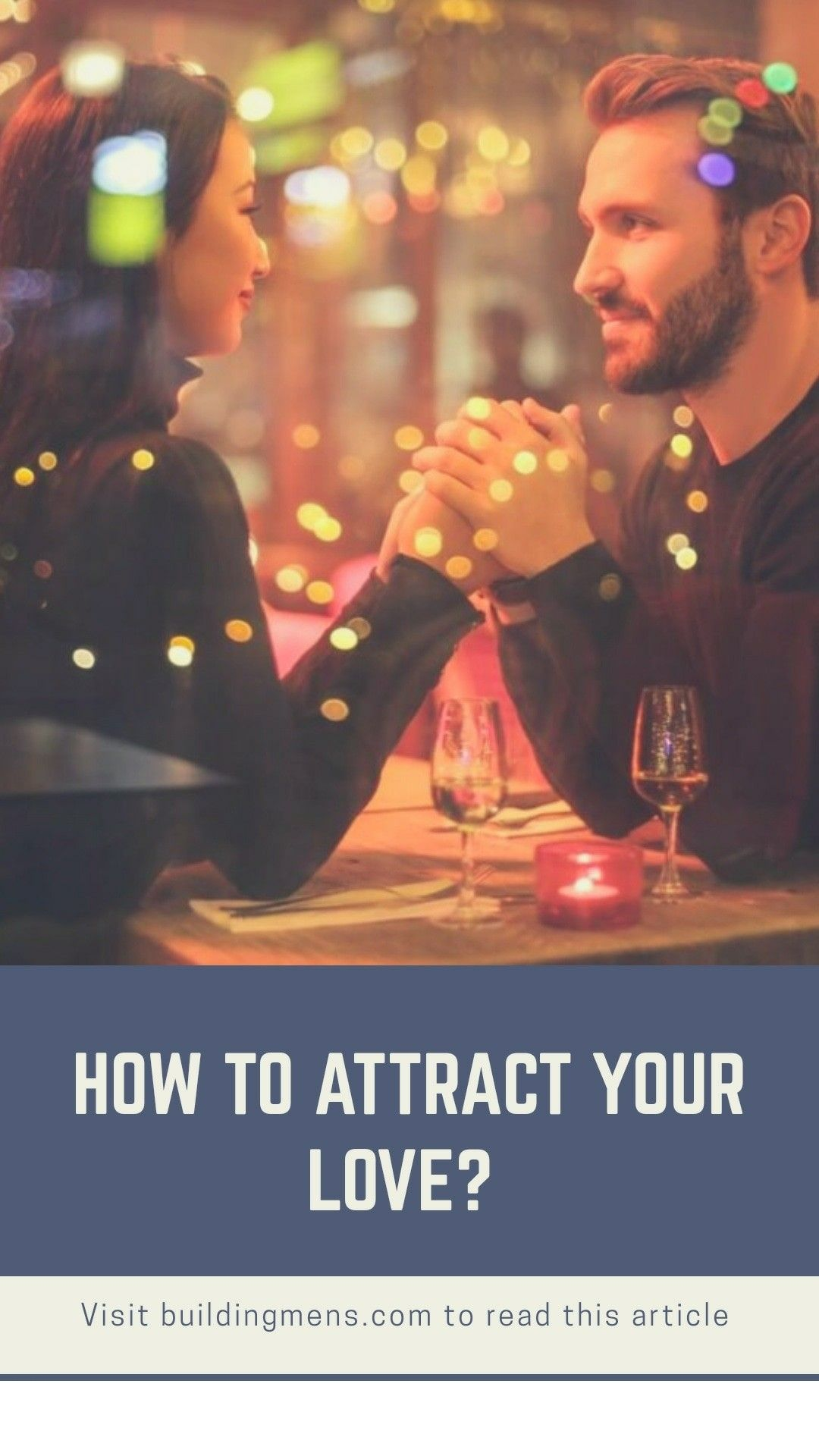How to attract someone you love? 4 alpha male mantras | Fashion