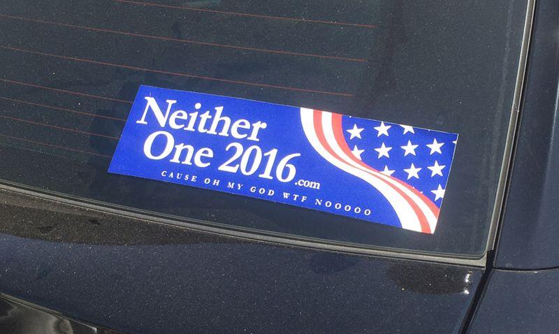#bumpersticker #election2016