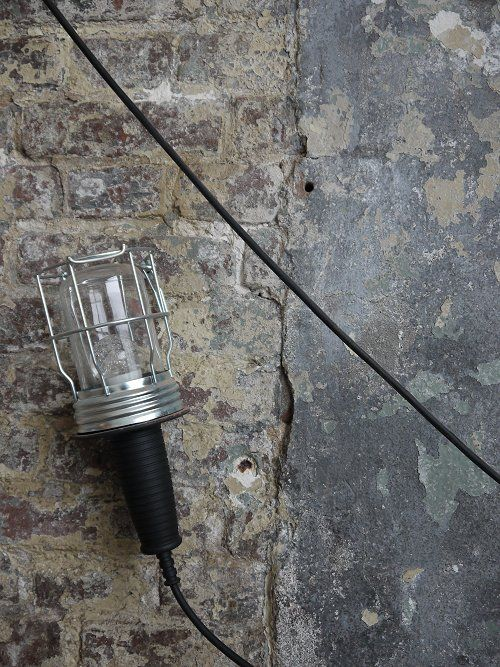 #industrial #interior industrieel lampje