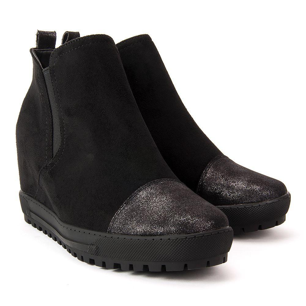 Botki Filippo Dbt351 17 Bk Czarne Botki Na Koturnie Botki Buty Damskie Filippo Pl Chelsea Boots Ankle Boot Shoes