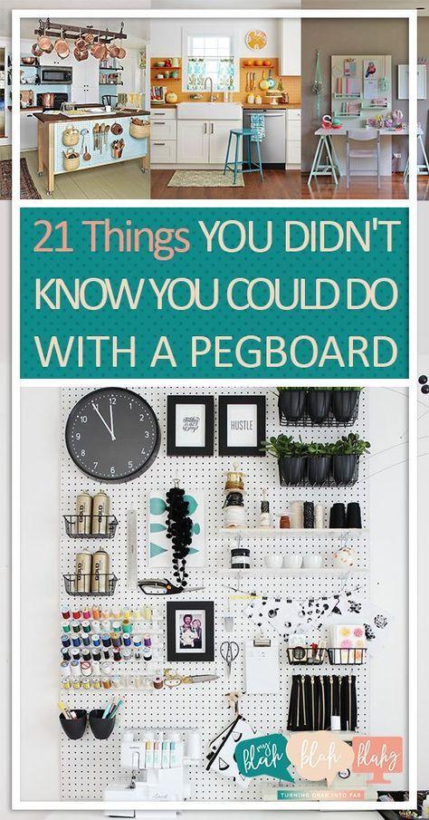 21 Dinge, von denen Sie nicht wussten, dass Sie sie mit einem Steckbrett machen könnten | Steckbrett, Steckbrett-Org …