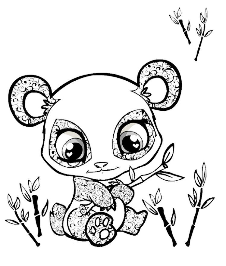 Cute Baby Animals Coloring Pages Az Drawings Rhpinterest: Free Coloring Pages Of Cute Animals At Baymontmadison.com