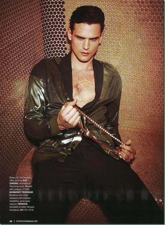 Guy Robinson for Essential Homme March/April 2013