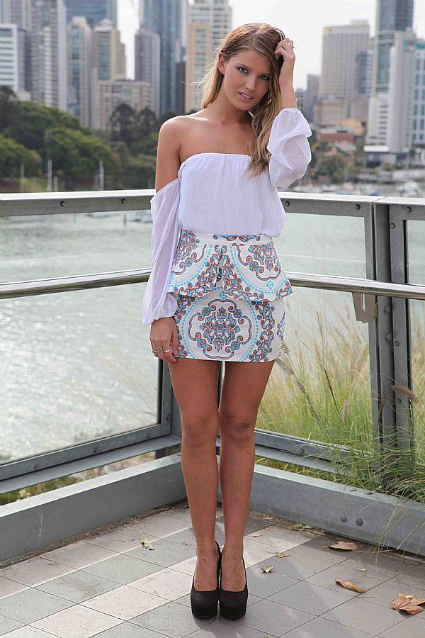 SANCHU SKIRT , BOTTOMS,,Skirts Australia, Queensland, Brisbane
