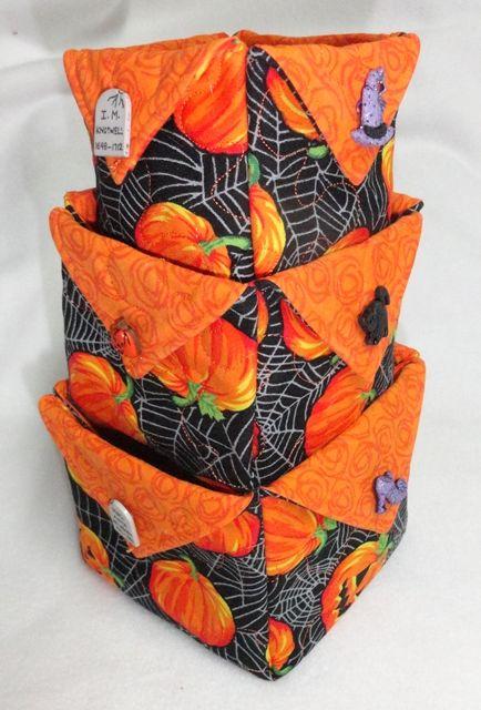 Nesting Fabric Boxes