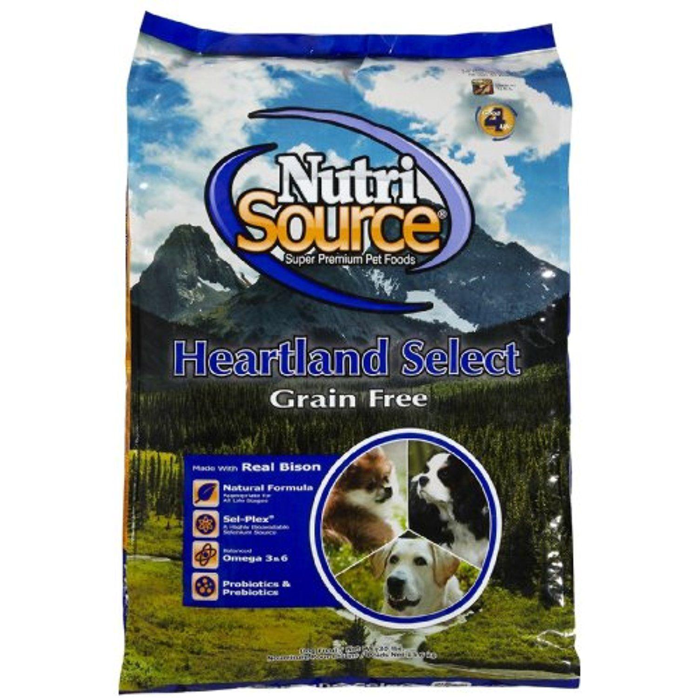 Nutri Source Grain Free Heartland Select Bison 30lb To