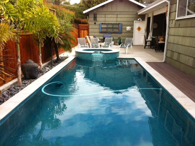 11 000 Gallons Recycled Rather Than Drained Due To Very High Calcium Levels Outdoor Decor Pool Outdoor