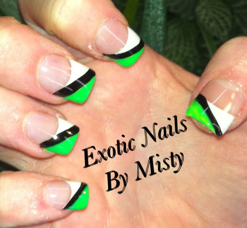 Monster Energy Drink Nails My Favorite Painted Nail Art Hand