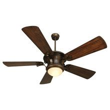 View the Craftmade Amphora Transitional Ceiling Fan with Dual Mount System and Custom Blade Options at LightingDirect.com.
