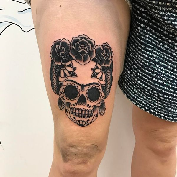 Sugar Skull Tattoos Symbolism Meaning And Best Designs Meaning