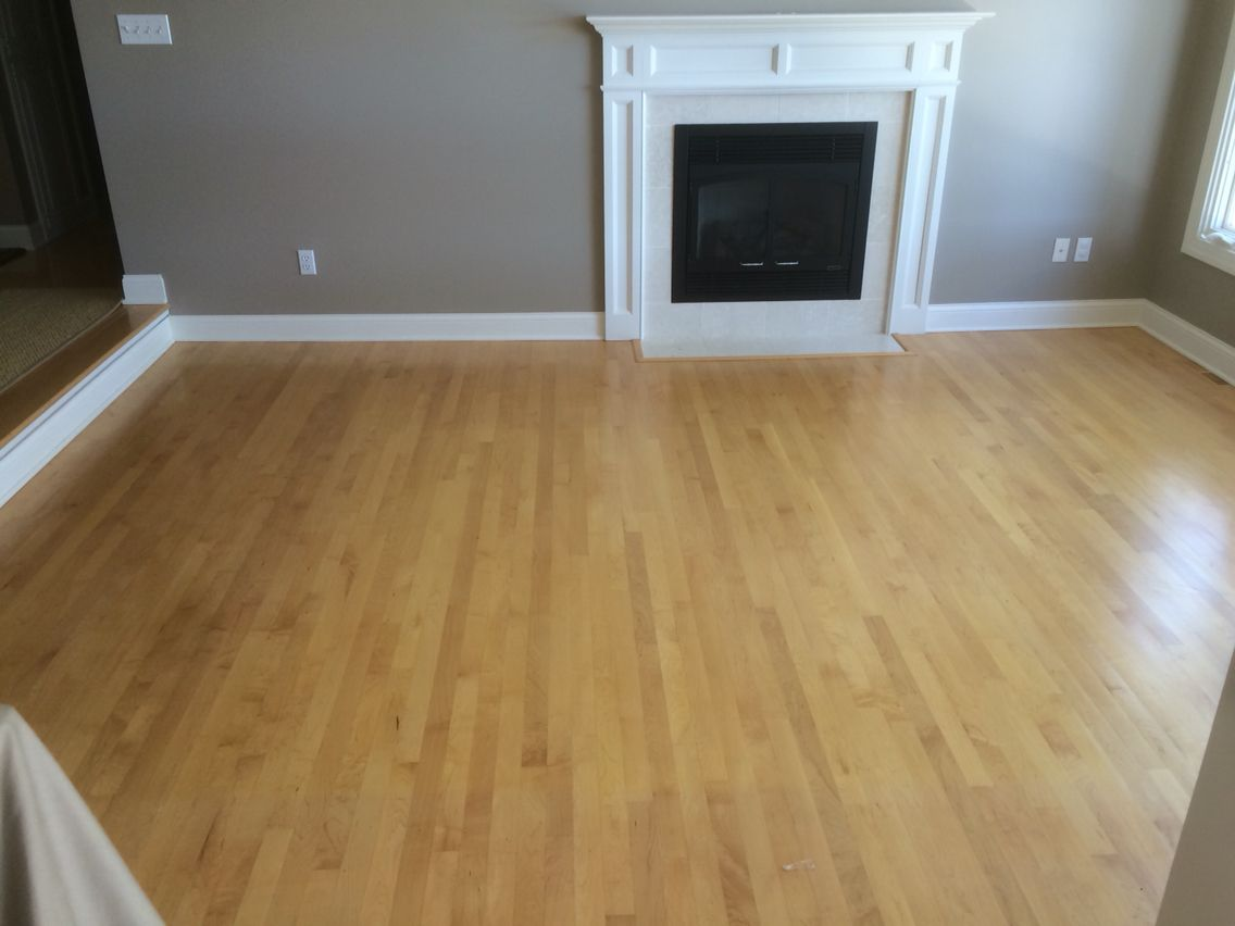 Maple Flooring Before Picture