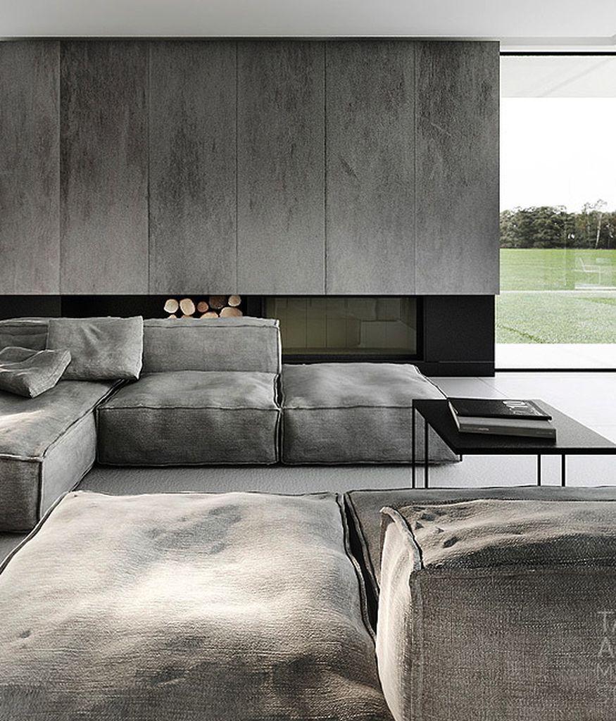 Elegant Contemporary Living Room Furniture: 99+ Elegant Living Room Industrial Furniture Ideas