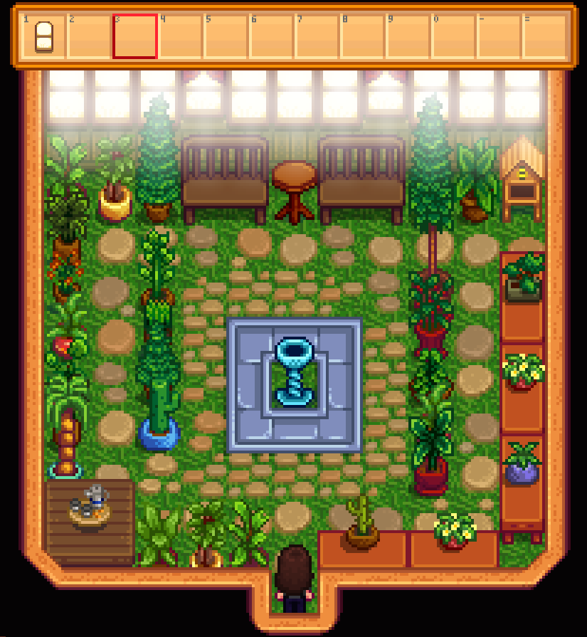 stardew valley best greenhouse layout - Google Search ...