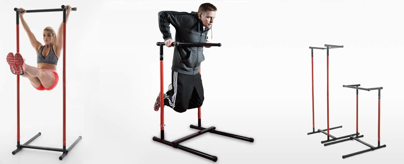 Portable Pull Up Bar & Dip Station | pull up bar | Pull up ...