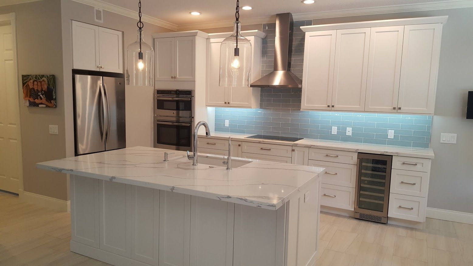 We Shipped These White Shaker Style Cabinets By Eudora To Jupiter Florida For An Old High School Friend That I W Shaker Style Cabinets Hall House Shaker Style