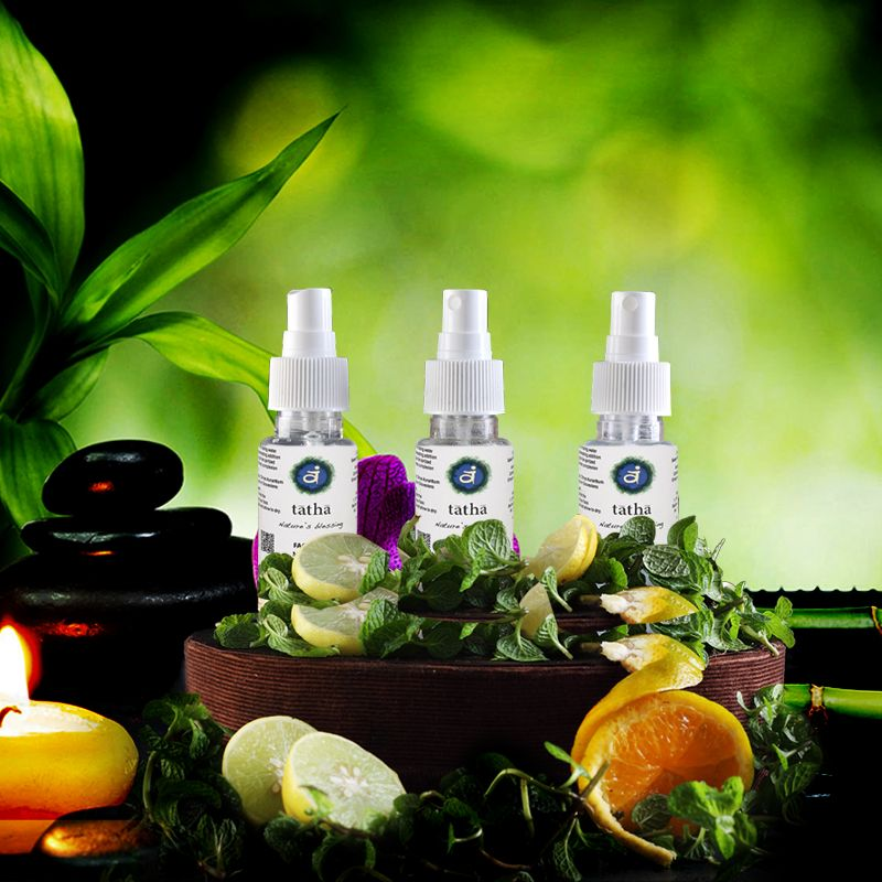 Feel the natural dew on your skin with Tatha face mist.